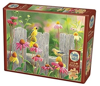 Cobble Hill Puzzle 275pc Pink and Gold