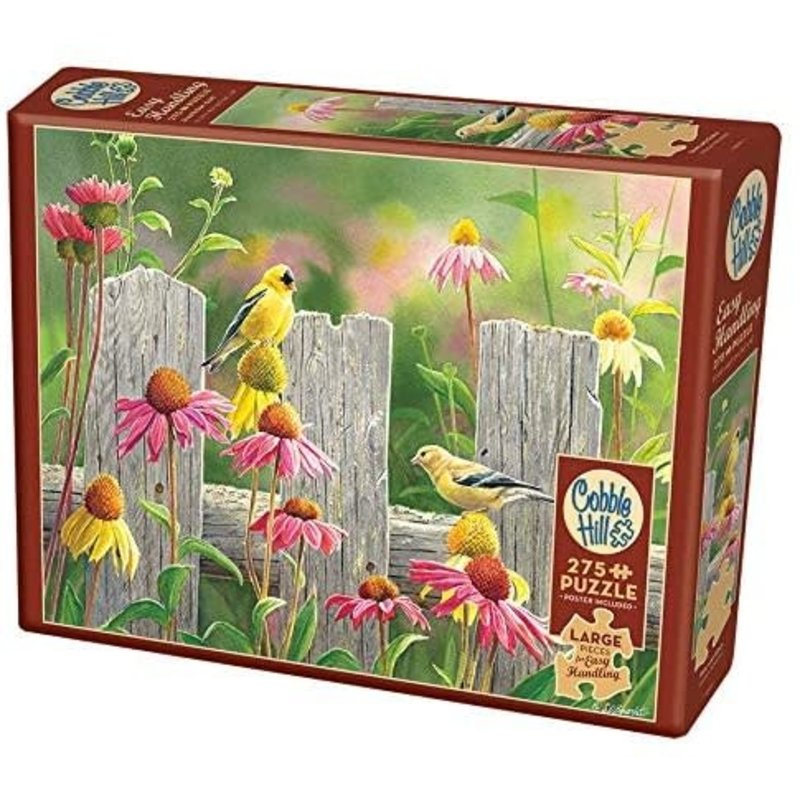 Cobble Hill Puzzles Cobble Hill Puzzle 275pc Pink and Gold