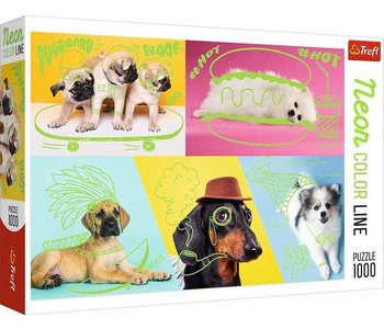 Trefl Puzzle 1000pc Far Out Dogs