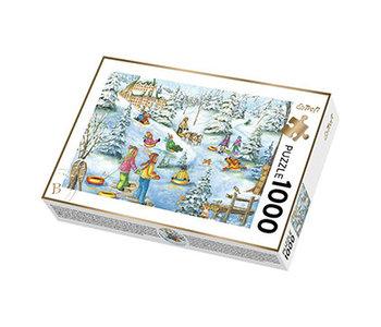 Trefl Puzzle 1000pc Snow Castle