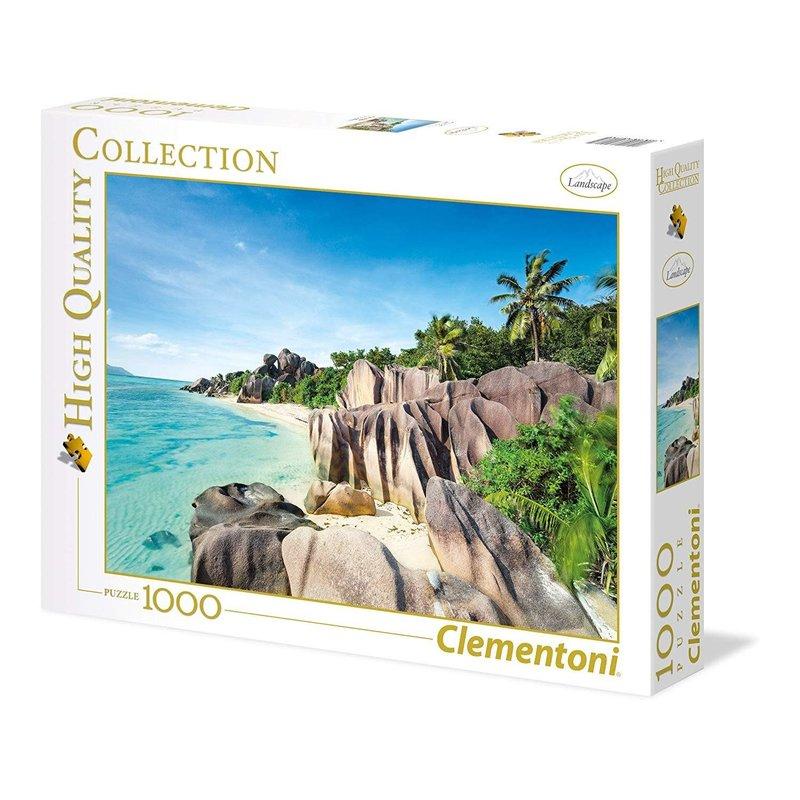 Clementoni Clementoni Puzzle 1000pc Paradise Beach