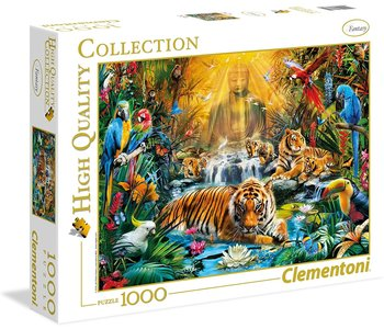 Clementoni Puzzle 1000pc Mystic Tigers
