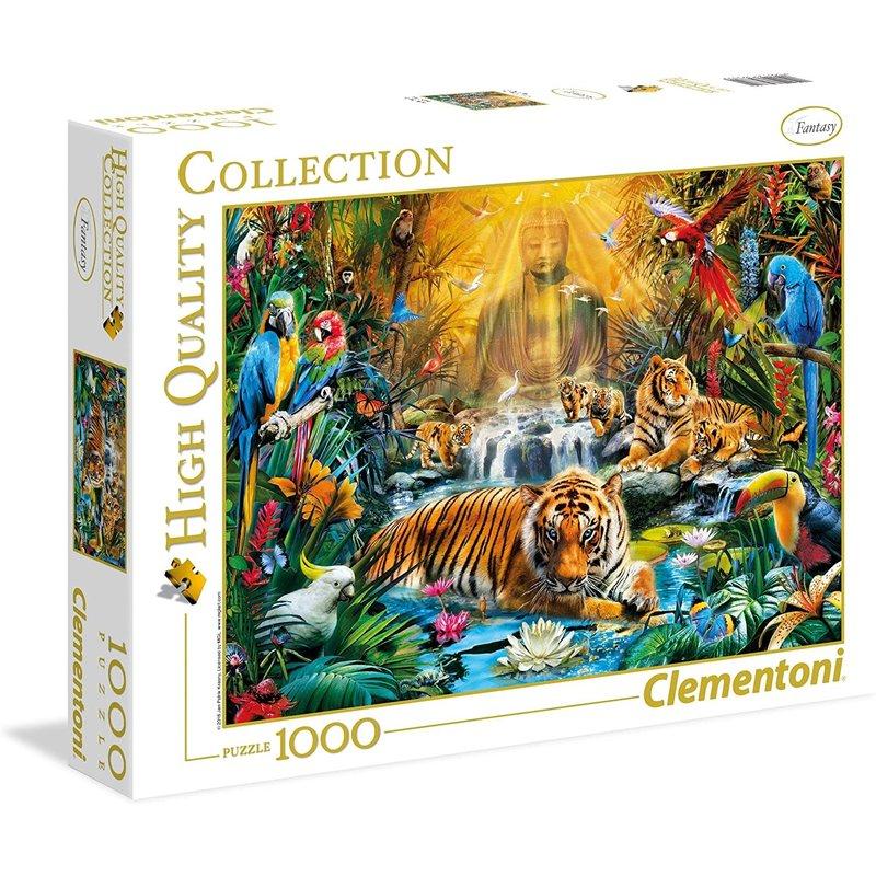 Clementoni Clementoni Puzzle 1000pc Mystic Tigers