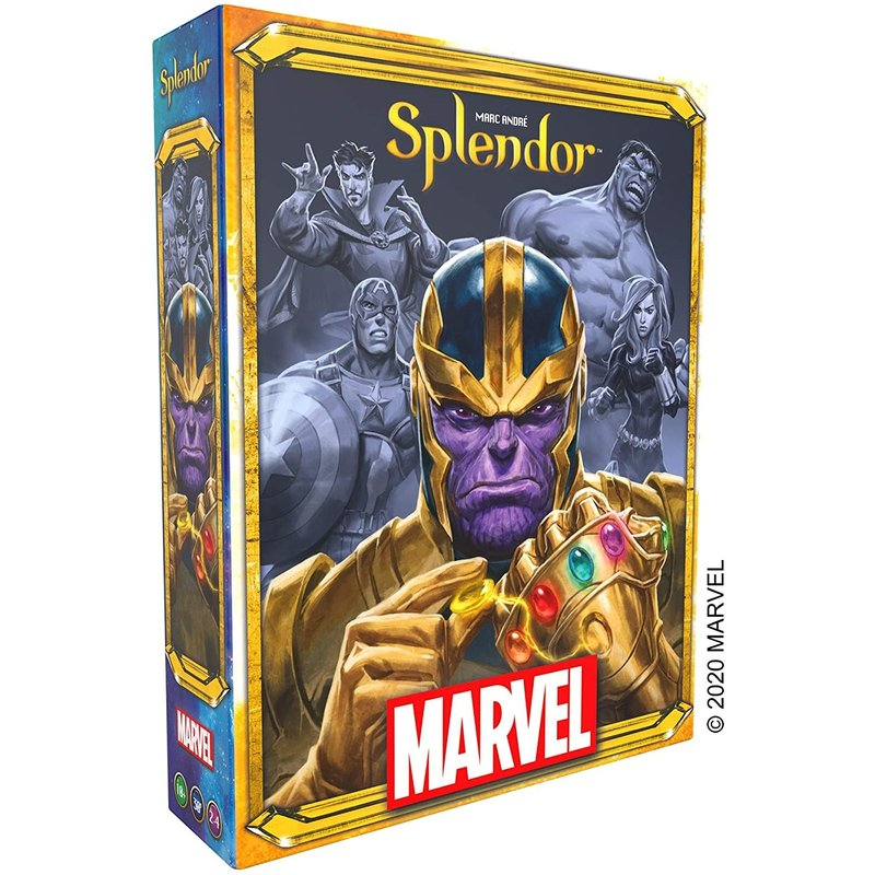 Asmodee Space Cowboys Game Splendor Marvel