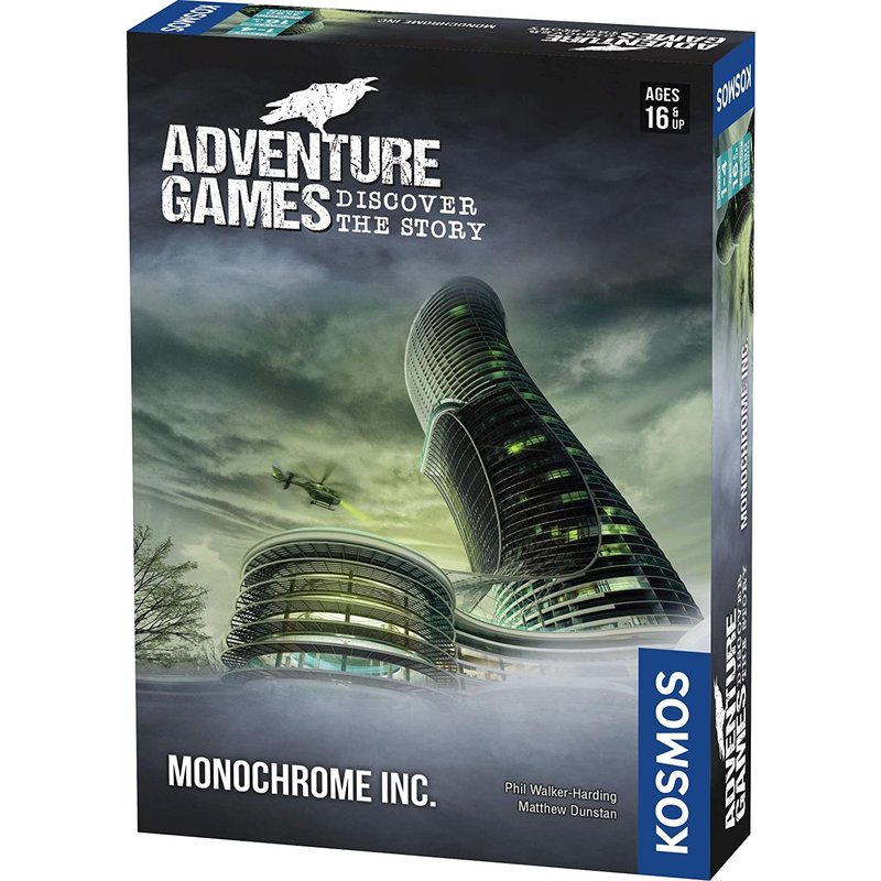 Thames & Kosmos Kosmos Adventure Games: Monochrome Inc.