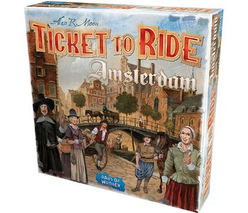Ticket to Ride Game: Amsterdam