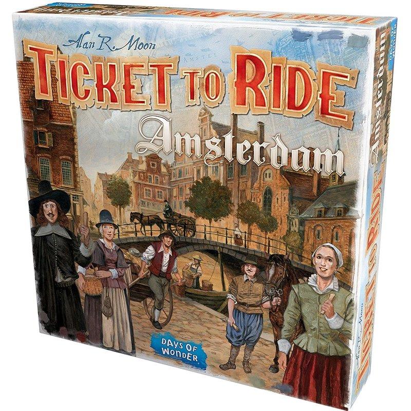 Days of Wonder Ticket to Ride Game: Amsterdam