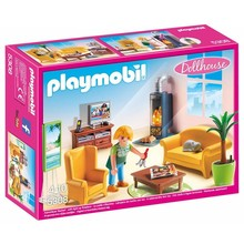 Playmobil PLaymobil Doll House: Living Room with Fireplace