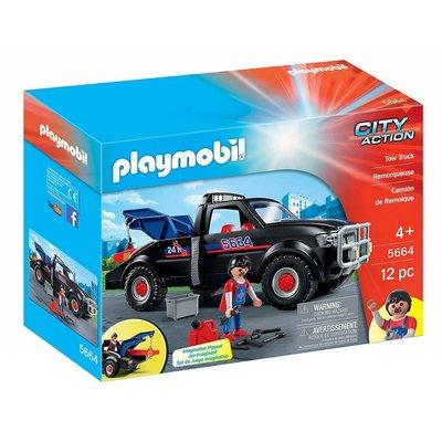 Playmobil Playmobil Vehicle: Tow Truck disc