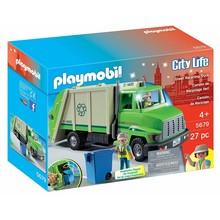Playmobil Playmobil Vehicle: Green Recycling Truck