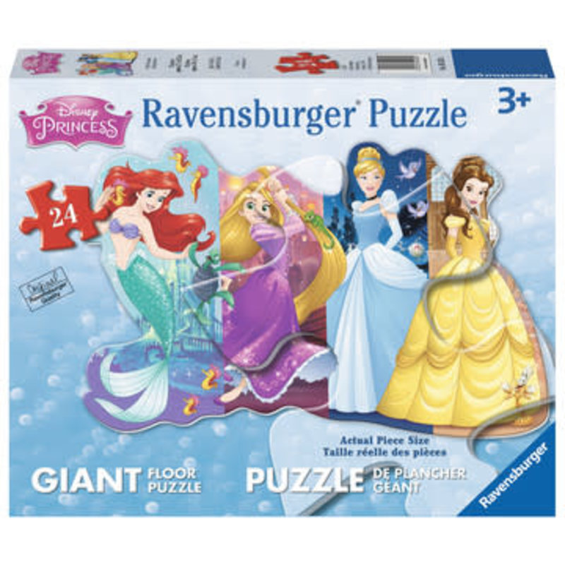Ravensburger Ravensburger Floor Puzzle 24pc Disney Pretty Princesses
