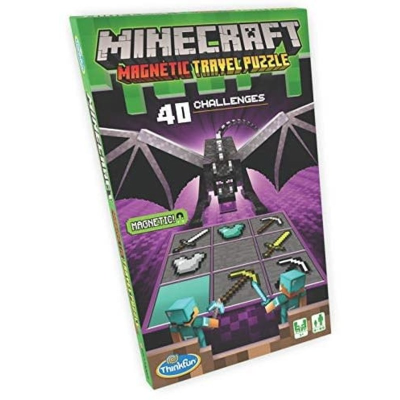 Thinkfun Thinkfun Game Minecraft Magnetic Travel Puzzle