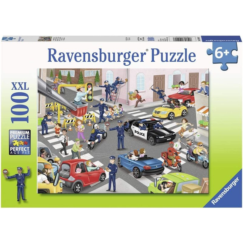 Ravensburger Ravensburger Puzzle 100pc Police on Patrol