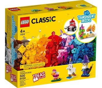 Lego Classic Transparent Bricks