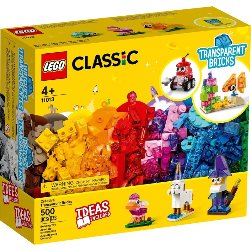 Lego Lego Classic Transparent Bricks