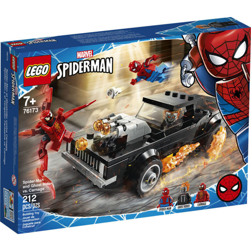 Lego Lego Super Hero Spider-Man and Ghost Rider vs. Carnage