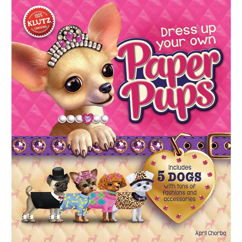 Klutz Dress Your Own Paper Pups