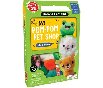 Klutz Book Jr My Pom-Pom Pet Shop