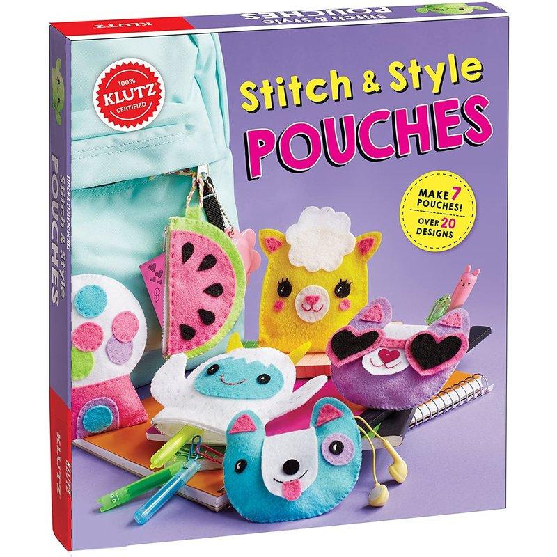 Klutz Klutz Book Stitch & Style Pouches
