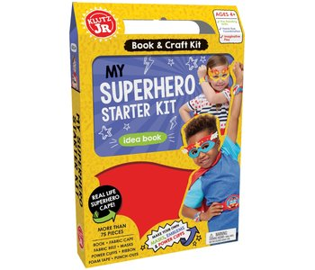 Klutz Book Jr My Superhero Starter Kit