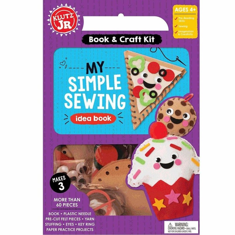 Klutz Klutz Book Jr My Simple Sewing
