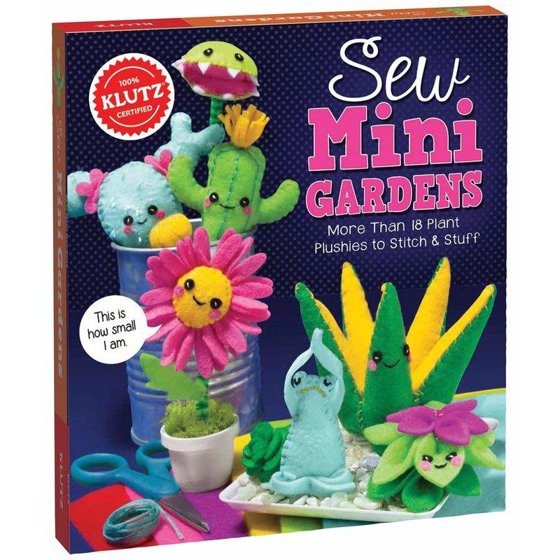 Klutz Klutz Book Sew Mini Gardens