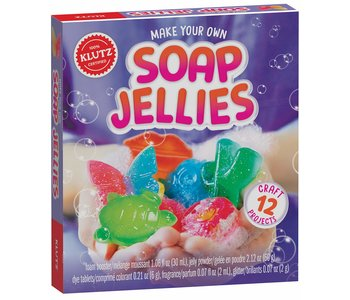 Klutz Book Make Your Own Soap Jellies