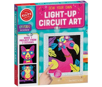 Klutz Book Sew Your Own Light-Up Circuit Art