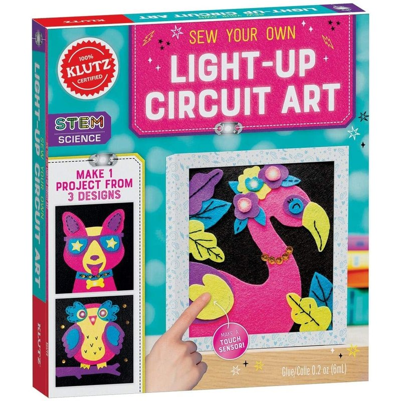 Klutz Klutz Book Sew Your Own Light-Up Circuit Art