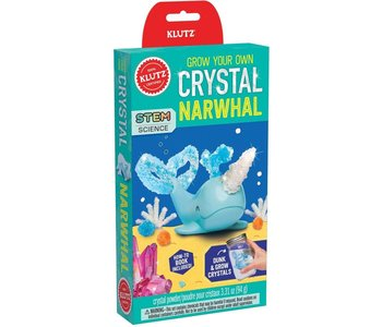 Klutz Book Grow Your Own Crystal Narwhal
