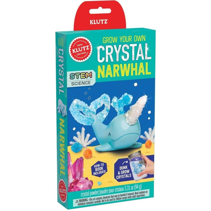 Klutz Klutz Book Grow Your Own Crystal Narwhal
