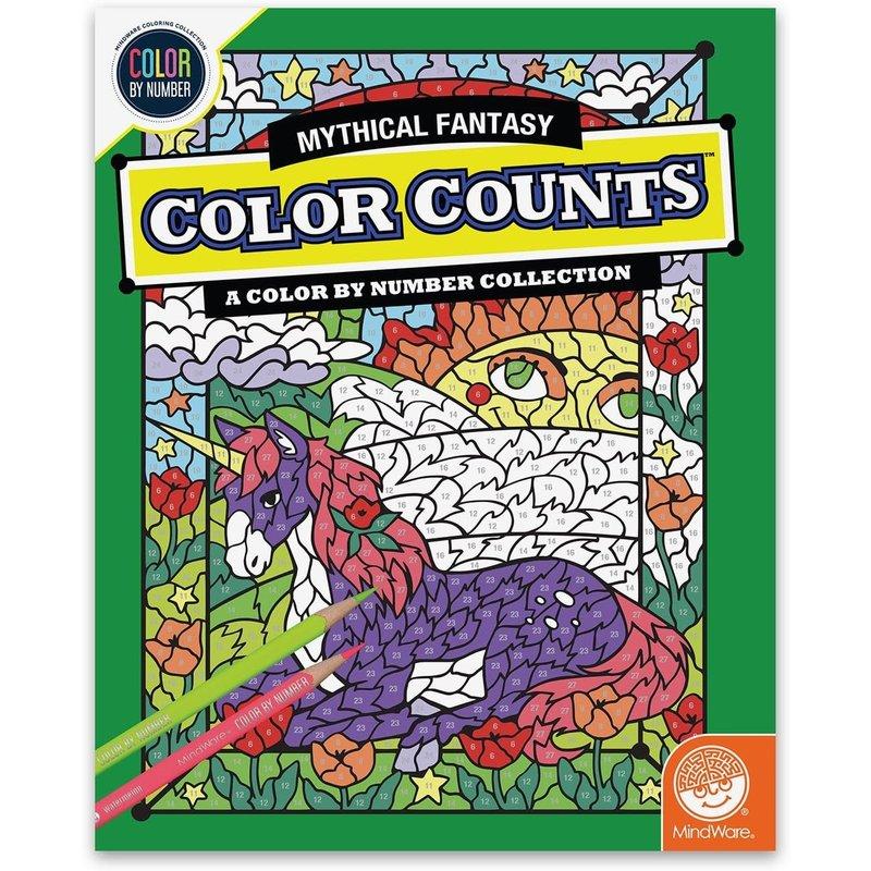 Color Counts Mystical Fantasy