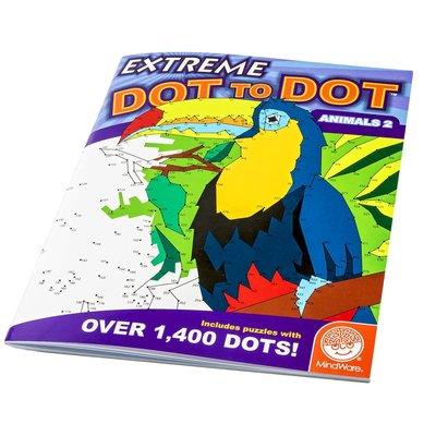 Mindware Extreme Dot to Dot Animals #2