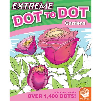Mindware Extreme Dot to Dot Gardens