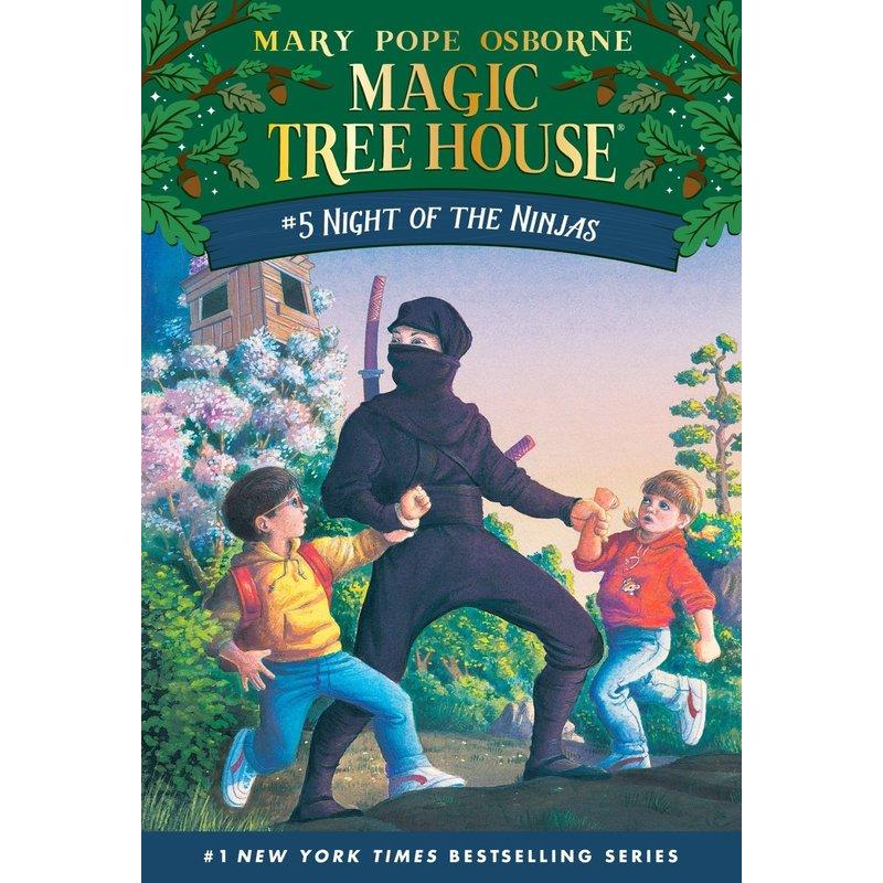 Magic Treehouse #5 Night of the Ninja