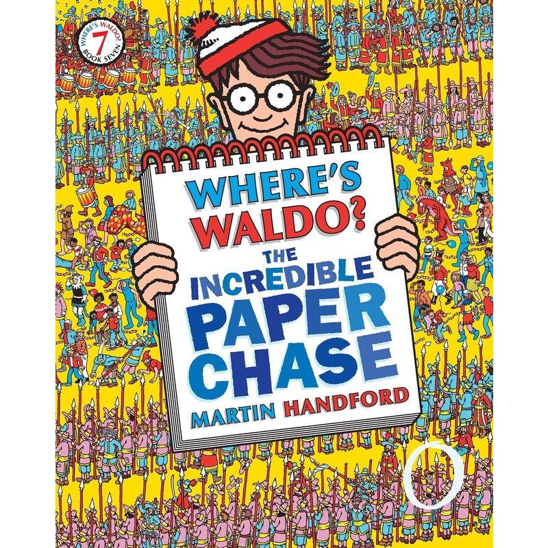 Where's Waldo Incredible Paper Chase