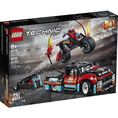 Lego Lego Technic Stunt Show Truck & Bike