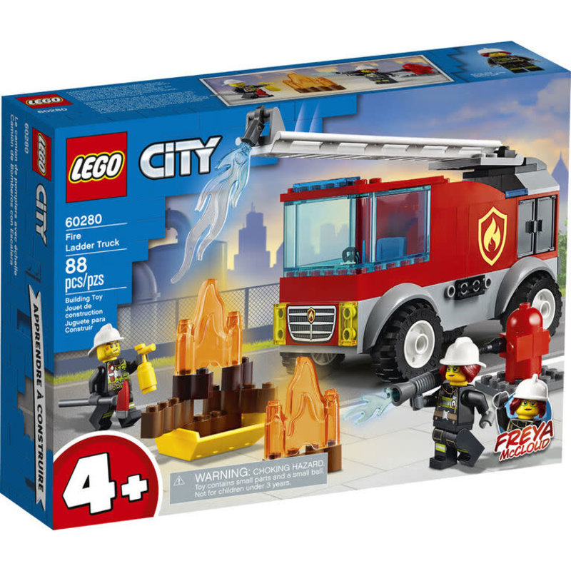 Lego Lego City Fire Ladder Truck