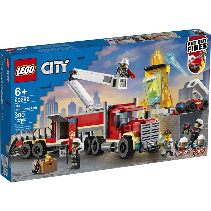 Lego Lego City Fire Command Unit