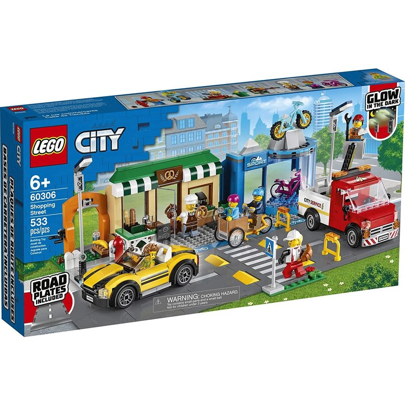 Lego Lego City Shopping Street