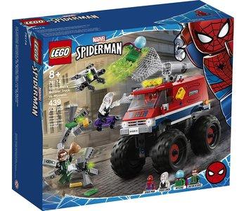 Lego Super Hero Spider-Man Monster Truck vs Mysterio