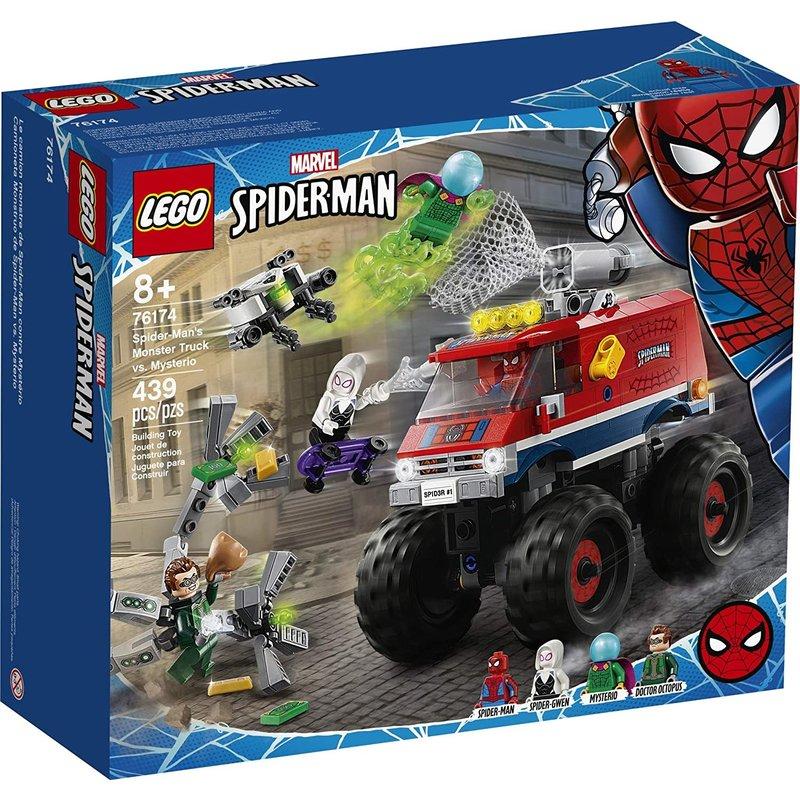 Lego Lego Super Hero Spider-Man Monster Truck vs Mysterio