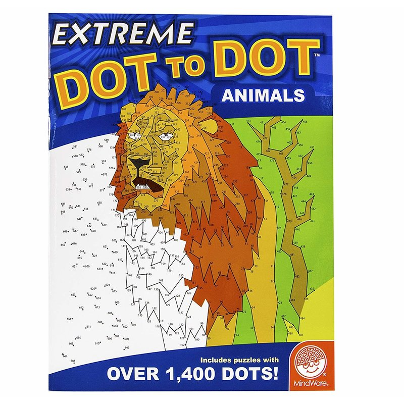 Mindware Extreme Dot to Dot Animals