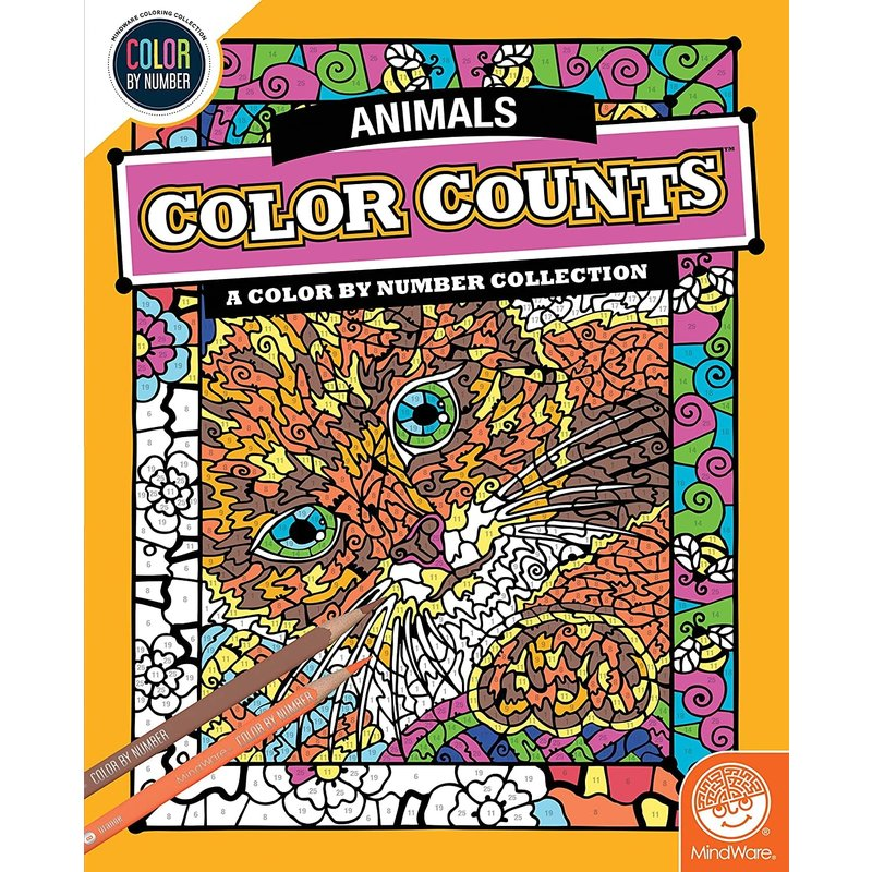 Mindware Color Counts Animals