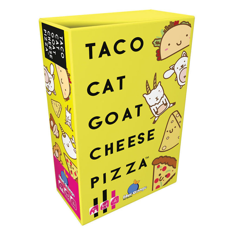 Blue Orange Blue Orange Game Taco Cat Goat Cheese Pizza