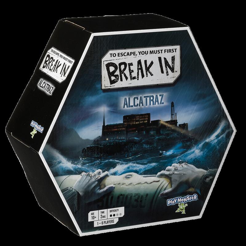 Playmonster Game Break In Alcatraz