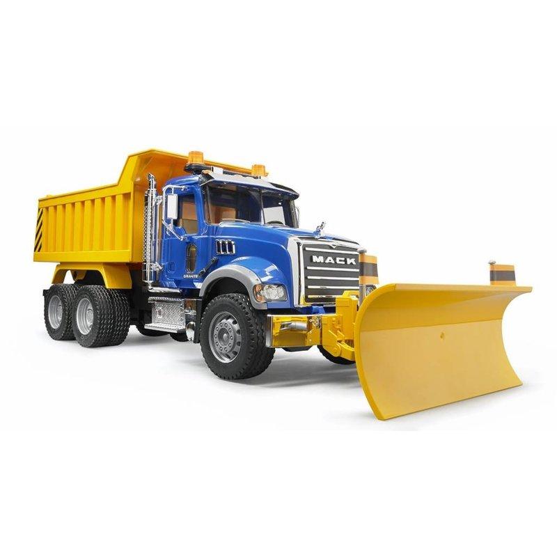 Bruder Bruder Mack Dump Truck w/Snow Plow