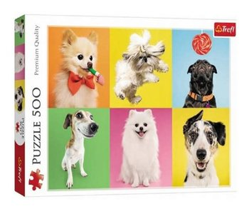 Trefl Puzzle 500pc Dogs