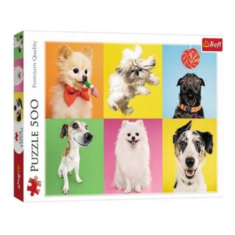 Trefl Trefl Puzzle 500pc Dogs