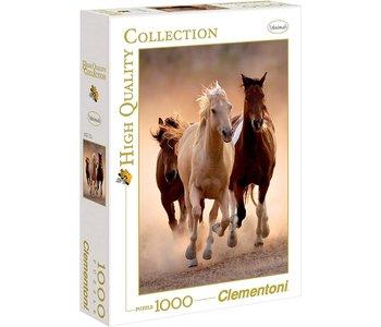 Clementoni Puzzle 1000pc Running Horses